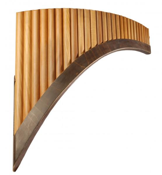 Panflöte 25 Rohre, G-Dur, h0-e4
