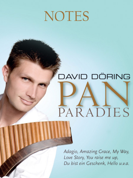 Notenheft Pan-Paradies - Panflötenpartitur